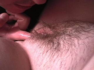 mmm, lovely hairy pussy ! look so tasty ! yummy !
