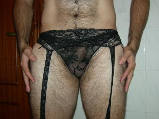 mmm so sexy hon, love your hairy nyloned covered legs