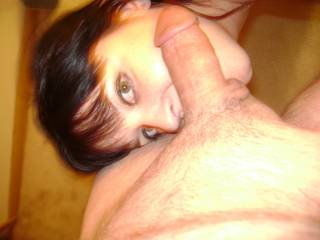 we need spmeone to suck my cock as she licks my balls