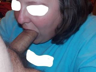I love sucking his dick