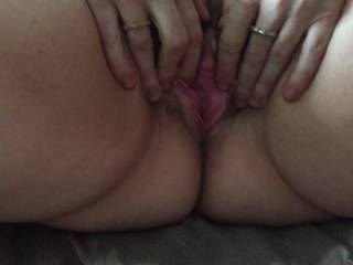 girlfriend\'s pussy full of cum
