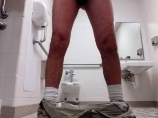 Naughty selfie at work, like my undies ?  😏