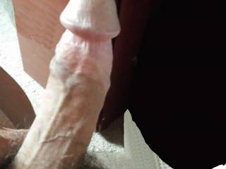 Just stroking, hoping for a pussy to rub me.