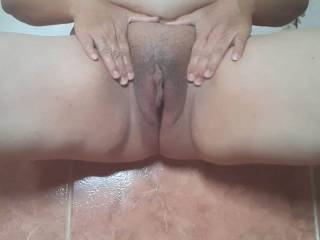 Showing off my pussy