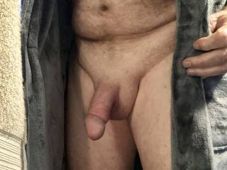 Thought I would flash my penis, you don\'t mind do you?
