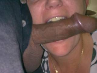 mouth full of cock !!!!
