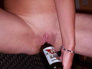 join with me, i somtimes use a bottle for a fuck with myself! Check the photo in our profile x
