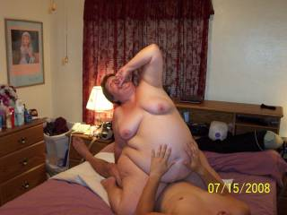 WOW what a FANTASTIC woman and WHAT a STUPENDOUSLY fabulous and GLORIOUS belly!!!! I'd love to be next fucking her  in this position!!!!!