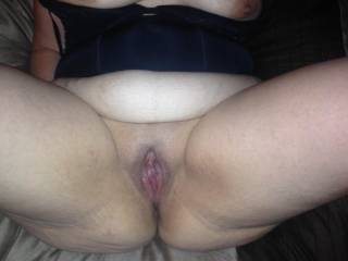 OMG i would enjoy eating your pussy up and down with my pierced tongue if i had the chance ANYWHERE you want it!..... Hot hot hot