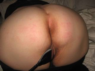 Let my husband fuck you please!!! I know he would love that ass