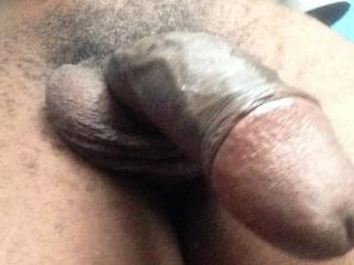 Mmmm...mouth watering...nice thick uncut cock...big mushroom head...so suckable