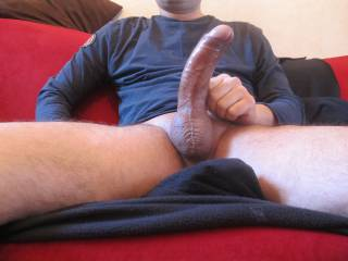 I want my pussy to get stretched out by your cock.