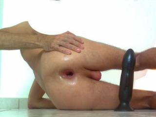Hold it open please! Can I jack off into you & watch my cum squirt in?