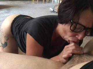 Milf sucking dick wonder if she's missed at home. Post more perhaps ?