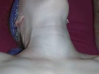 wife sexy tummy play whit small cock