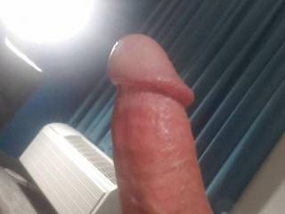 Using the cockring to make my cock super hard then jerked to completion