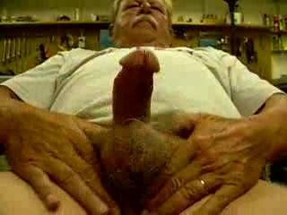 I love those big, hairy balls and that big, mushroom head.  The only thing better would be me taking your load in my mouth!  Very nice!!