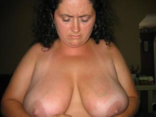 Sexy lady. Love your sweet tits and nipples. I'd love to suck them.