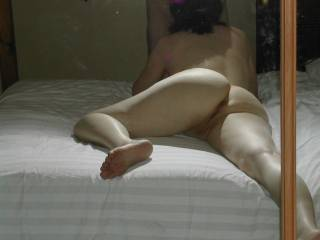 God, I so want to shove my cock there and fuck your ass till you faint ... I want to fill you up with my cum...