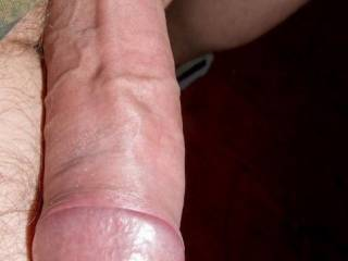 Mmmm, I thinkg that thats a delicious young hard cock....I'd suck it.  K