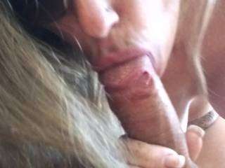 Wow, that was HOT! You took controle of that cock and made him cum quick. Can I see some full front of you and that sexy tat? Message me hun.  Mrs. B