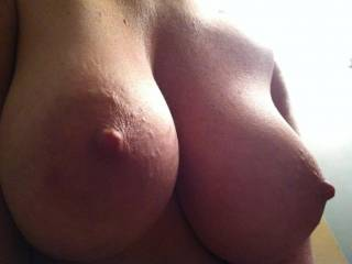 Big tits,areolas,hard nipples... Are these sum of the best REAL TITS on here? Comments! :)