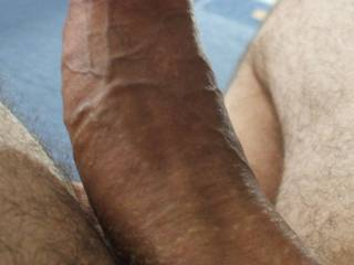 Wow that's thick !!!! Love to slid that into my tight pussy