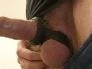 you look so good in that strap, nice firm balls and delicious hard shaft