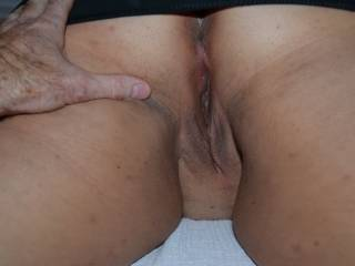 shy but hungry girl met me despite being 15 years younger.  Once upstairs in my room she saw the big cock in her face she was hooked. Trained her to gush from anal too.  Was mine 3 hole whore til a job relocation...