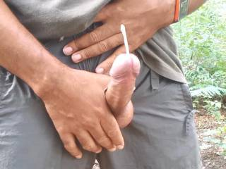 I love seeing you spurting cum like that.  Beautiful cock...let me tastes that cum.  Nice, that cock is sooooo nice.  I'd love to swallow it. MILF K