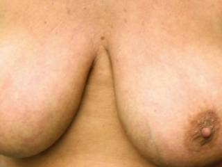 Perfect size. Lovely nipples. So suckable.