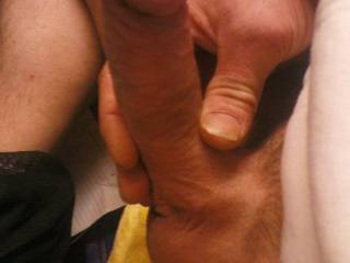 """I spent the previous night sucking my hubby's dick for more than an hour... he was moaning from pleasure telling me how good i do the """"job""""... i ended up swallowing a huge load of cum... i love the feeling of his hot cream blasting deep in my mouth... Your big cock deserves tonight to be your night..."""