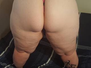 looks like ive been a bad girl who wants to spank me, make my ass red
