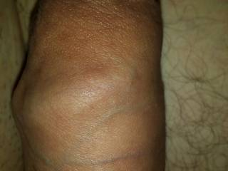 Uncut as you can see, really makes for a super sensitive cock! Comments?