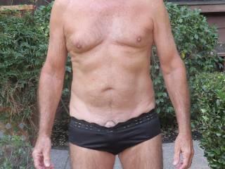 Do you think Mr. Floridaman needs a larger size of black panties?!  From Mrs. Floridaman