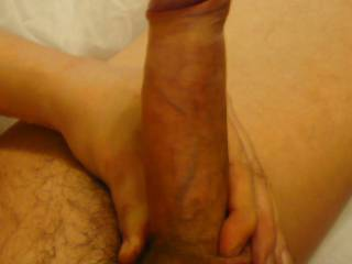 My erect cock ready for fun