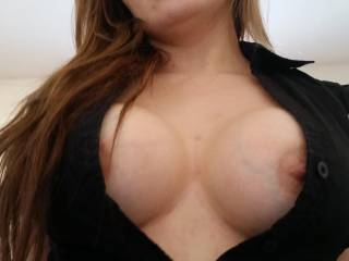 My wife getting fucked and showing off her big boobs