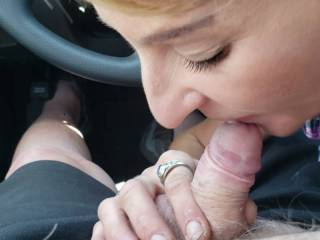 New car and first Blow Job in it by KK