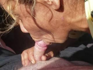 Margrett giving me a blow job