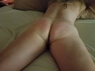 Getting ready to bury my face right in her incredible ass