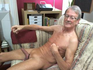 Just a little stretching exercise while naked on cam !