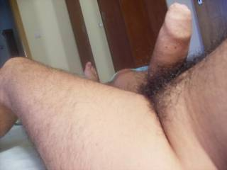 OMG!!  I LOVE your big, hard uncut cock!!  I'd LOVE to have it in my mouth and suck you so good!!  Mmmmmmm, seeing your cock has mine throbbing with lust!!