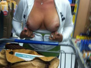 Supermarket manager by trade here.......wish you shopped in my store i love your shopping pics (love all your pics actually) let's see some pics in the produce aisle