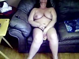 Great video, shows off her gorgeous body nicely, especially her nice big tits and little roll of belly fat..she is so sexy
