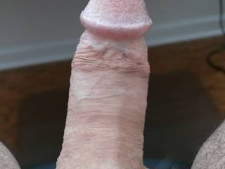 Just another view of my nice old cock.