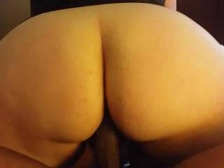This was one round plump phat juicy ass