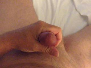 Morning wood. Had to be played with!