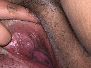 She spread it open so i can lick it ans suck on it real good just how she likes