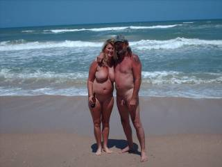 We love being naked anywhere but beach is best. We love your pics and fuck after looking at them. We are both bi. We just love sex.
