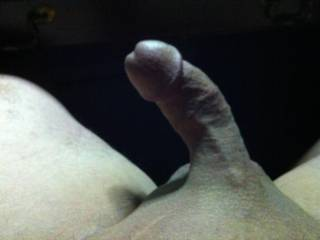 this is a very nice picture! That cock looks very lickable and suckable. Smoothly shaved is always best!